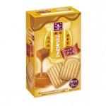 ミルクキャラメル クリームサンドクッキーのカロリー(1箱8枚)